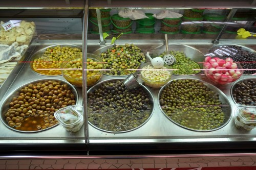 More olives at the Mercado Central in Valencia