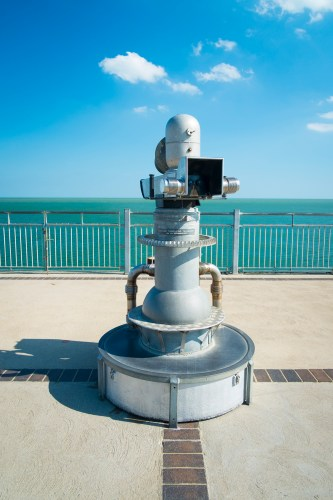 Focusing time and space to bring you everything you could possibly want to see through a pier telescope.