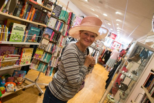 Hat time at the Norwich Oxfam
