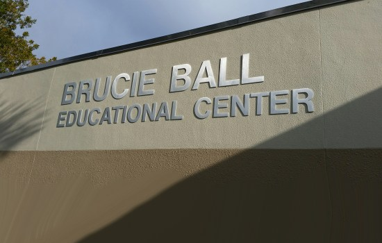Welcome to Brucie Ball Educational Center