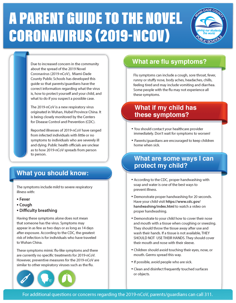 A Parents Guide to the 2019-NCoronavirus