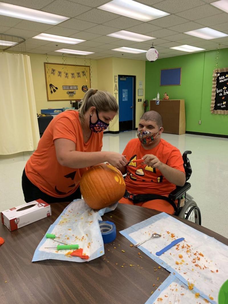 pumpkin cariving