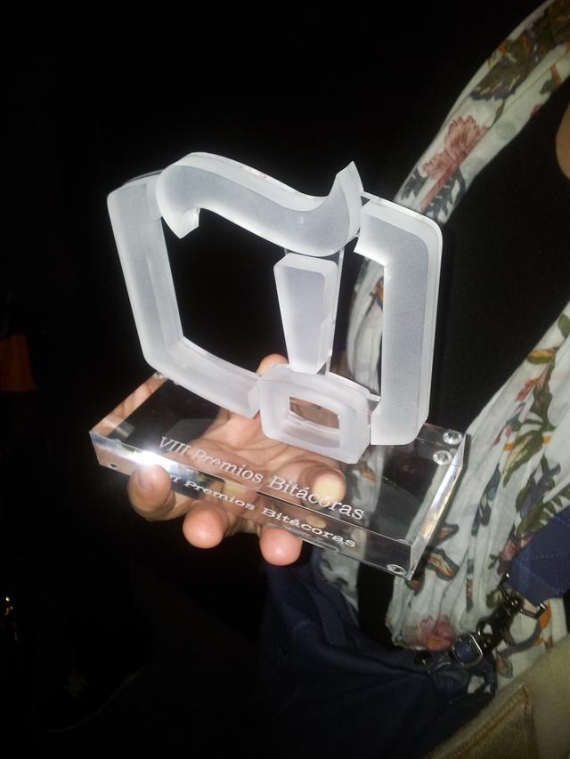 Premio Bitácoras 2012 en la categoría de Ciencia para Eureka