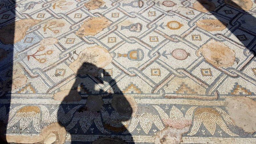Mosaike in Qumran
