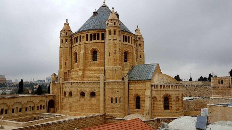 Die Dormitio-Abtei in dJerusalem
