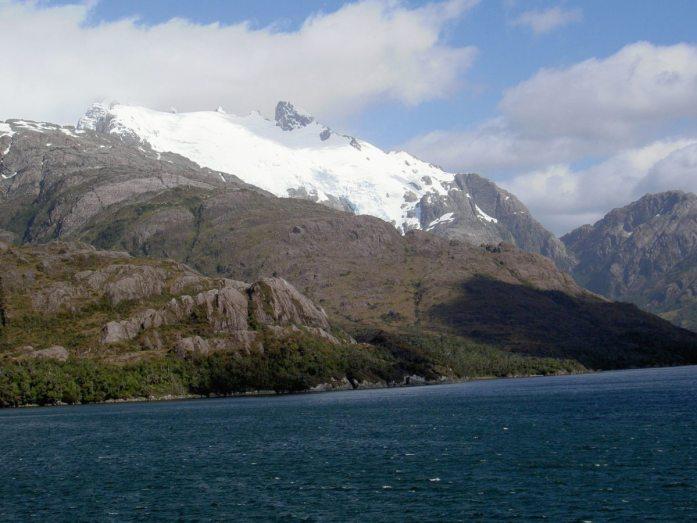 Straße der Gletscher in Chile