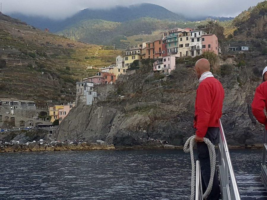 Manarola in den Cinque Terre, Ligurien