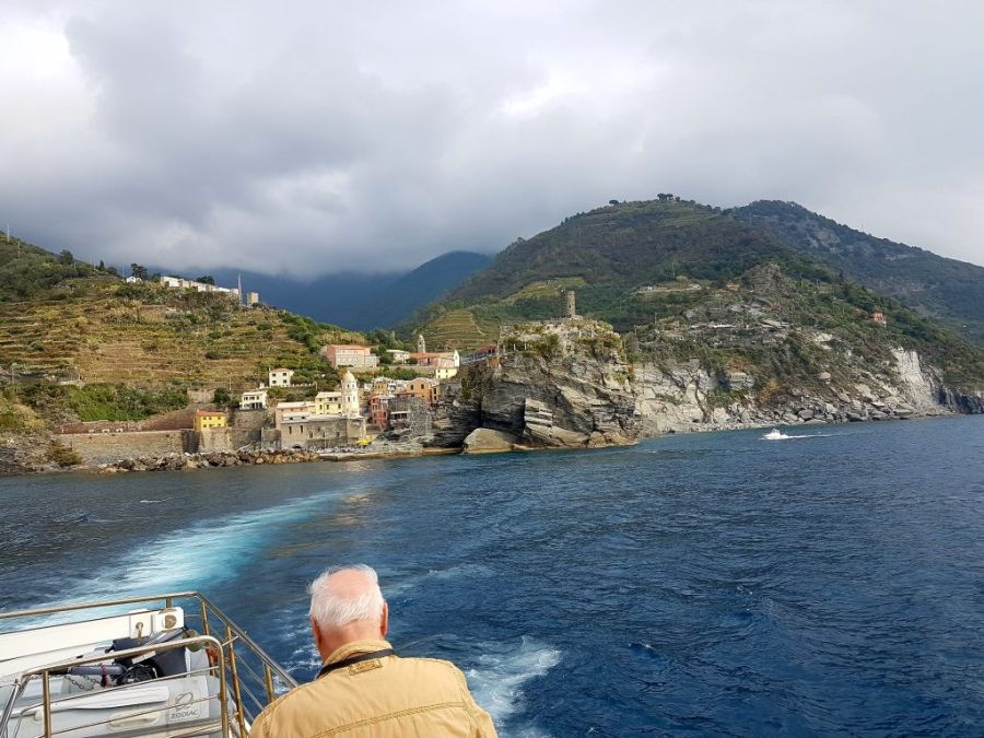 Bootstour in der Cinque Terre