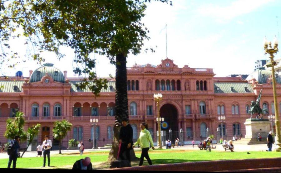 Die Casa Rosada in Buenos Aires