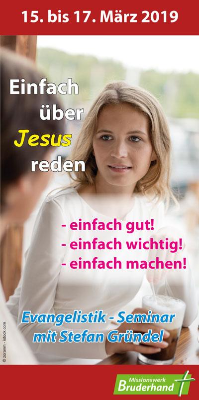 Einfach 252ber Jesus reden Missionswerk Bruderhand