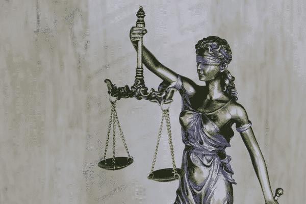 female Statue of Justice