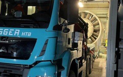 Reinigung Lüftung Lötschbergtunnel