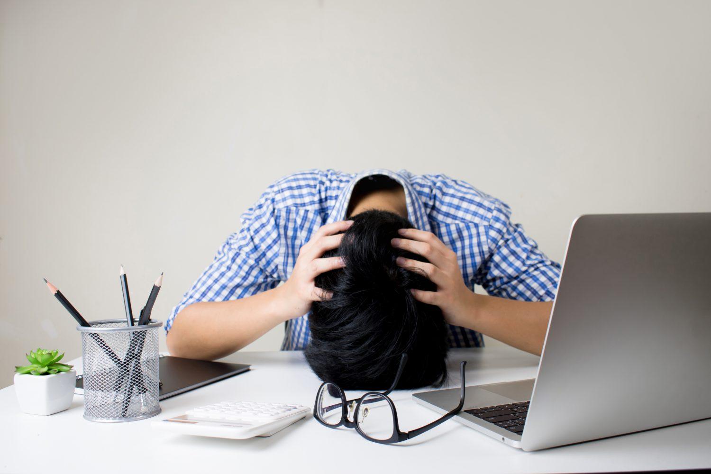 overspannen symptomen foto