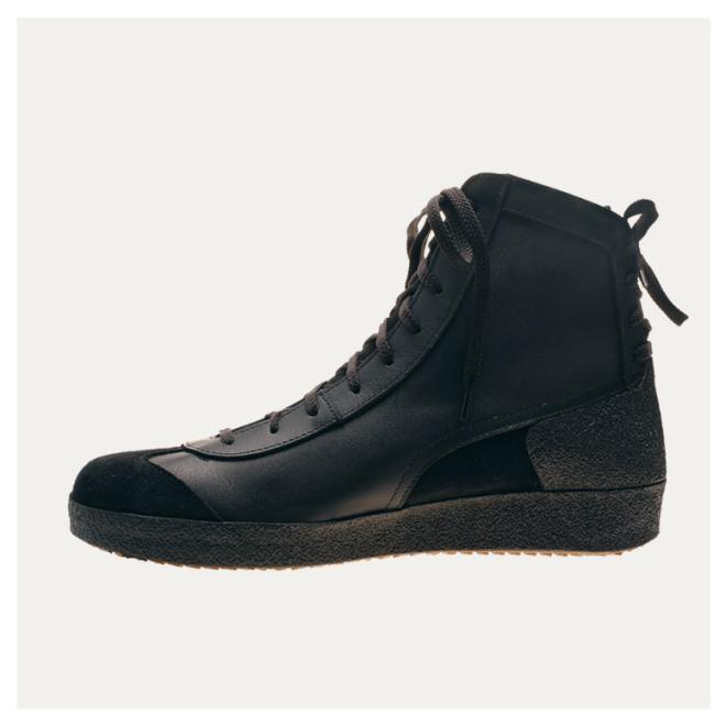 Multiplex Brütting schwarz Rindsleder Schuhe