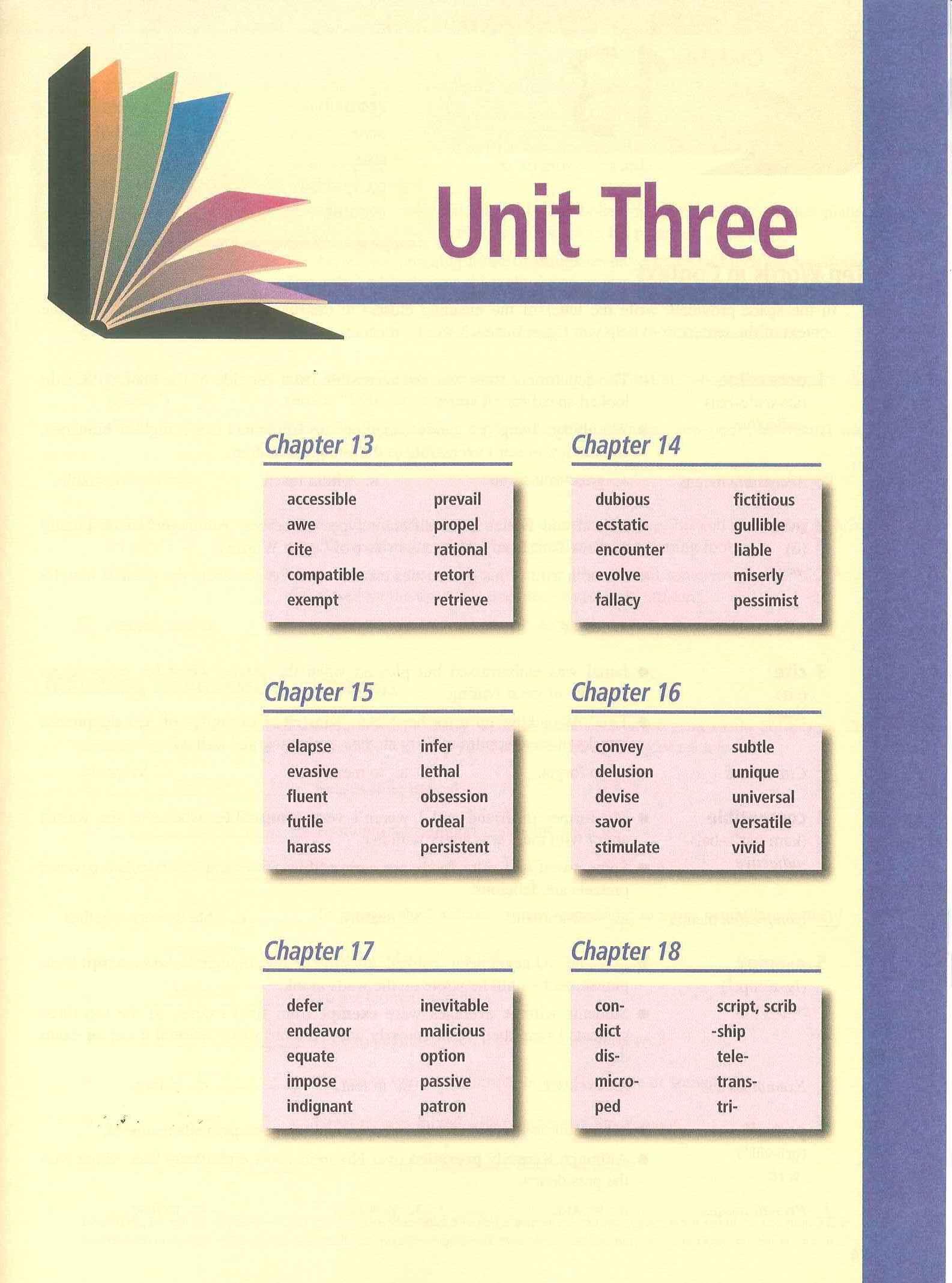 8th Vocabulary Mrs Bruffey S Website