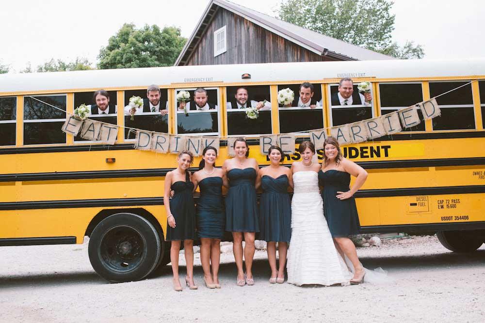 amerikaanse schoolbus als hip en gezellig trouwvervoer bruiloft Goedkoop Trouwvervoer.htm #17