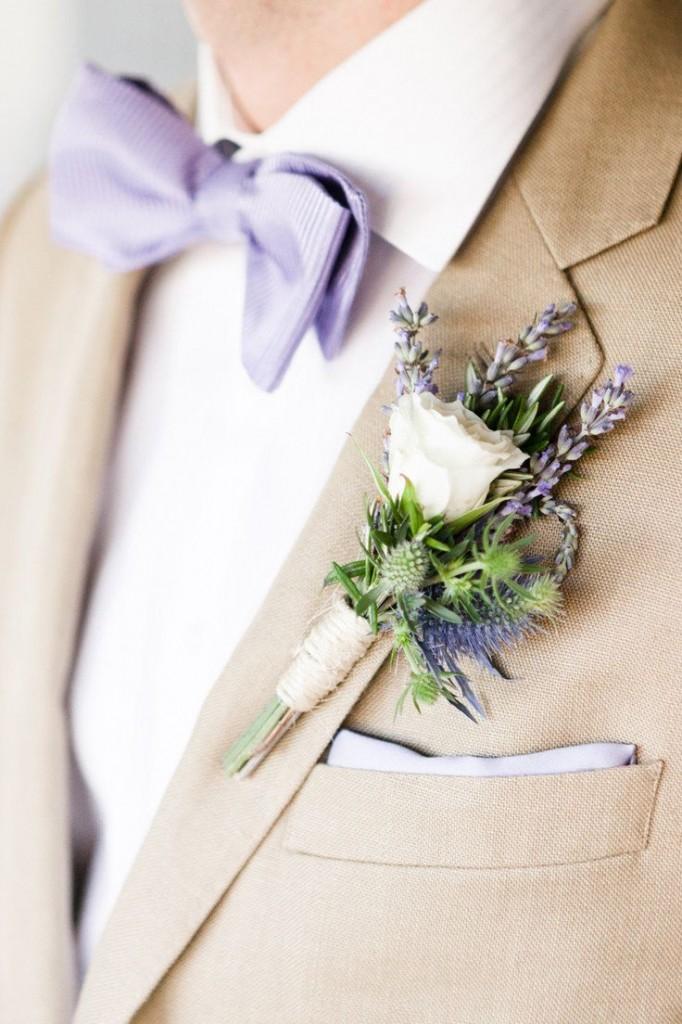Lavendel bruiloft