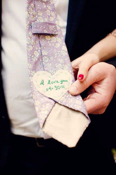 Verrassing voor de bruidegom