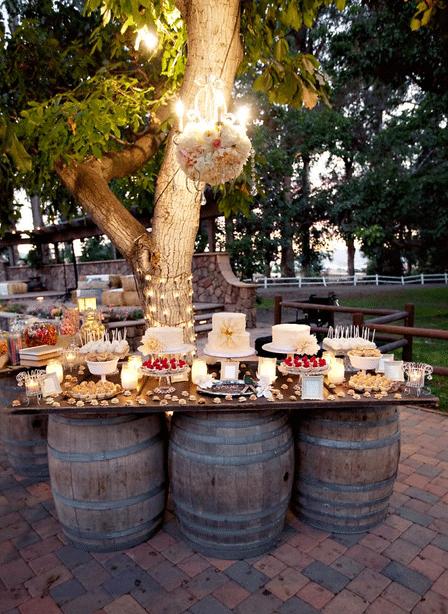 Taartenbuffet bruiloft
