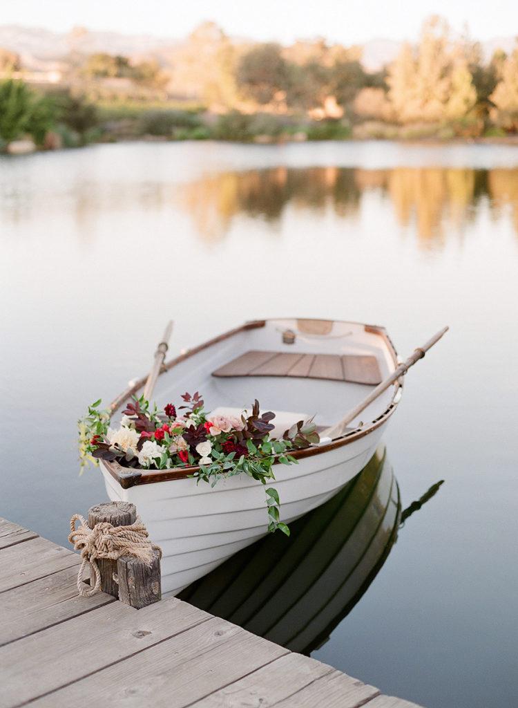 Bootje als trouwvervoer