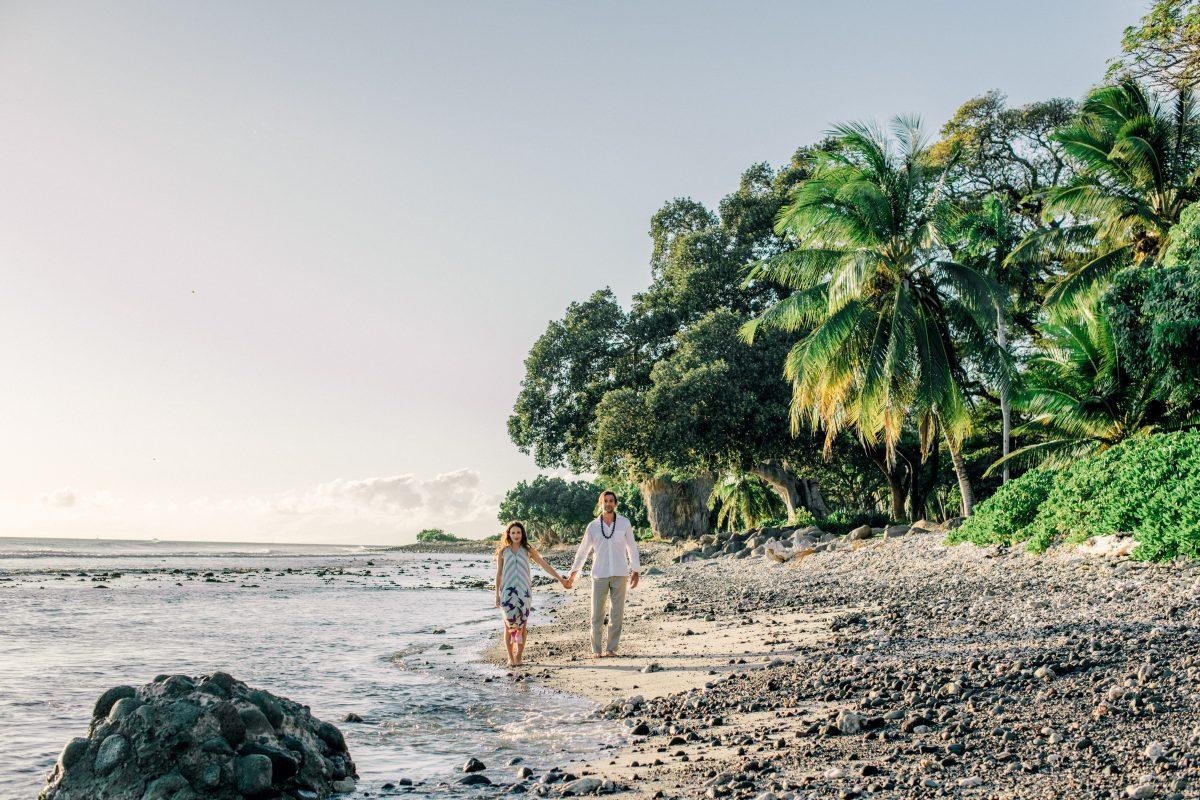 Huwelijksreis op Hawaii