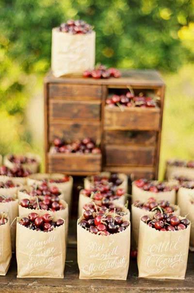 Op een duurzame bruiloft eet je streekproducten