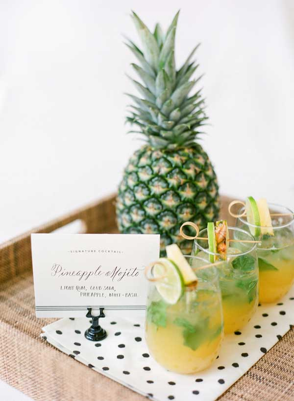 Ananas mojito