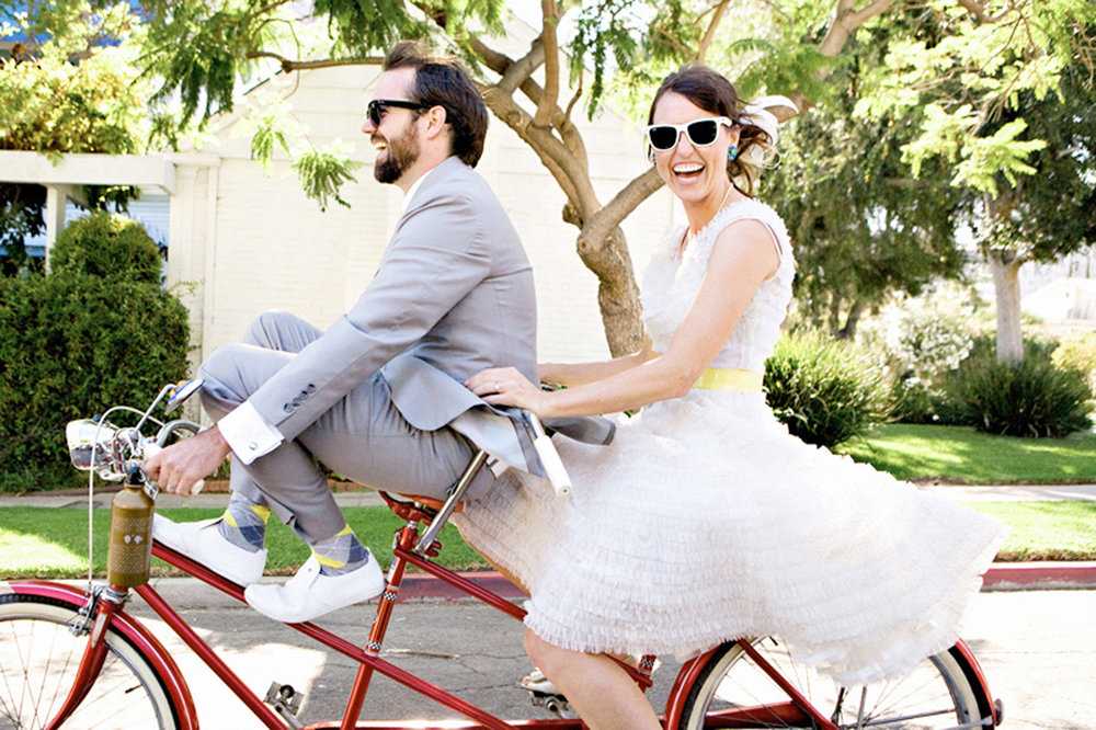 Trouwen op de fiets