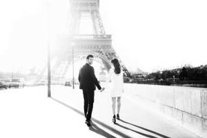 Franse bruiloft in Parijs