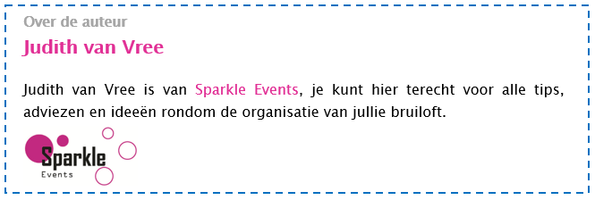 Sparkle Events gastblog