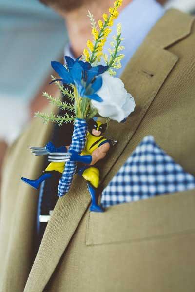 Superhelden corsage
