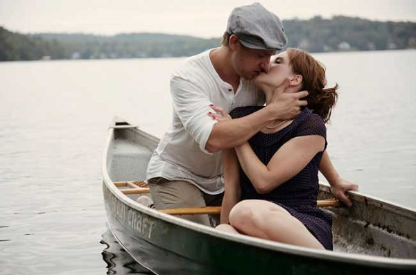 Verlovingsshoot in het thema van the Notebook