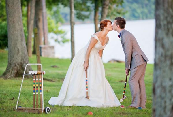 Spelletjes voor het bruidspaar