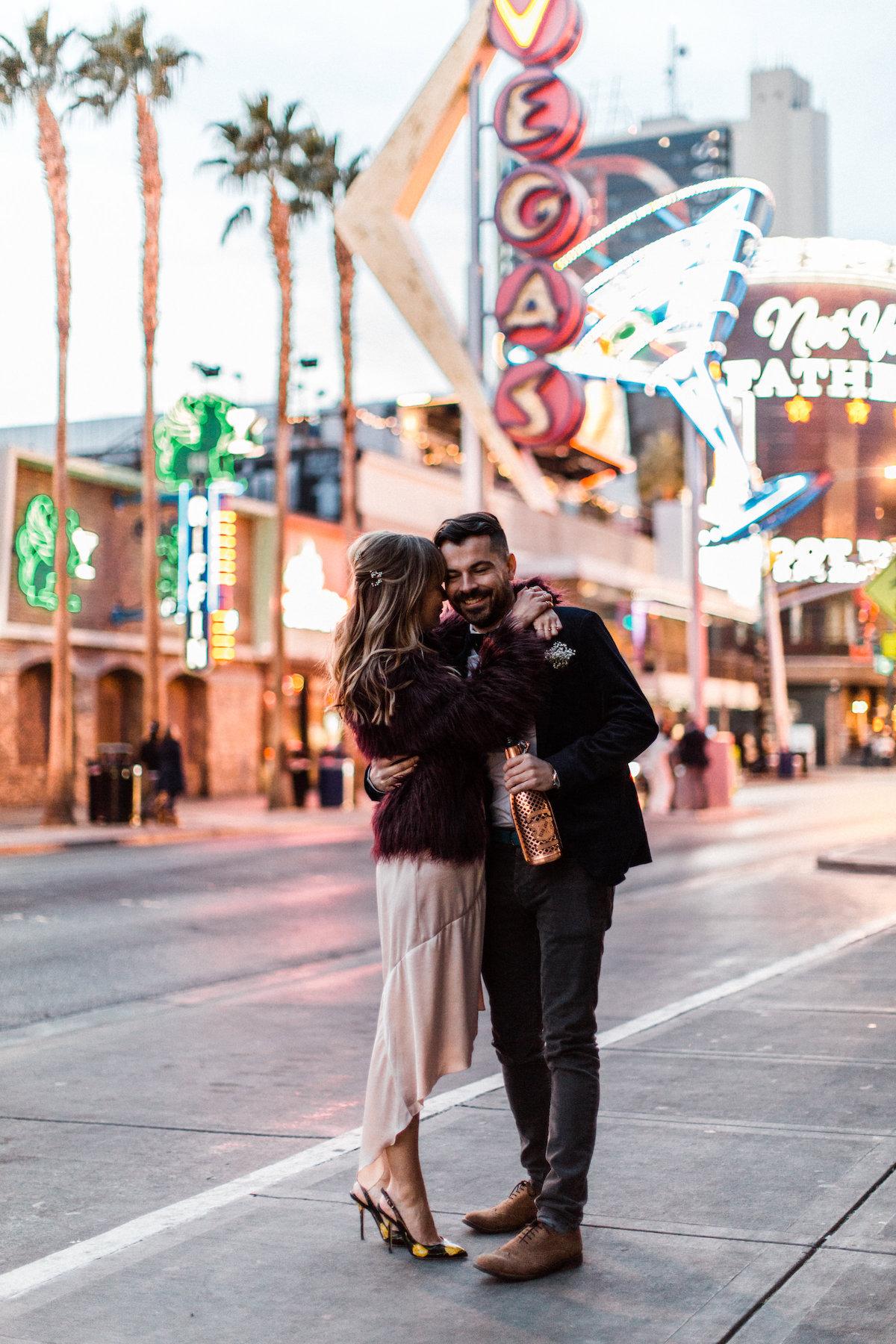 Huwelijksreis in Las Vegas