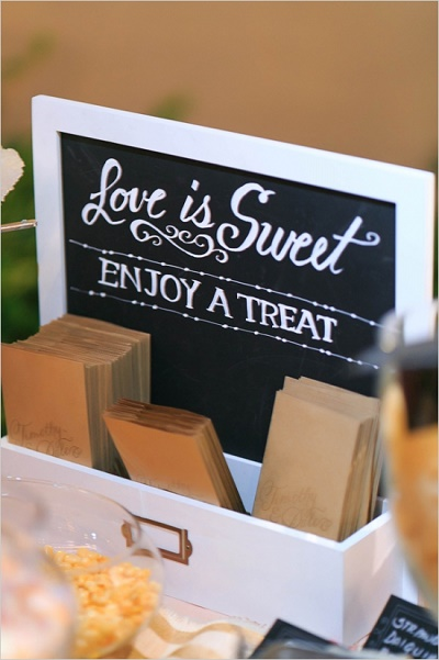 Candy bar bruiloft