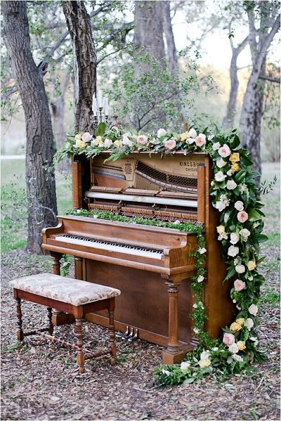 Piano op bruiloft