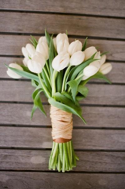 Tulpen bruidsboeket