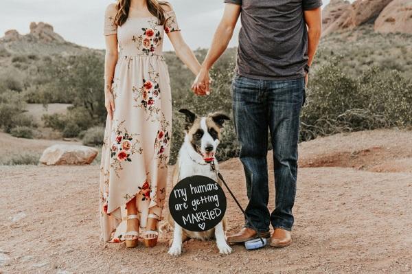 Verloving bekendmaken met foto