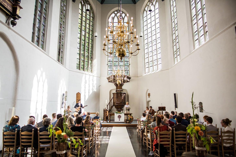 Bruiloft in de kerk