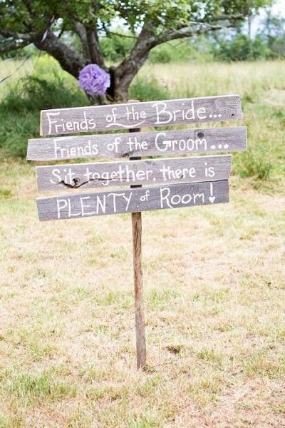 Ceremonie met gescheiden ouders