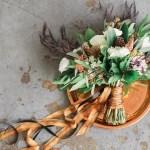 Industrieel bruidsboeket