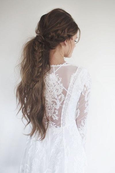 Bruid met staart