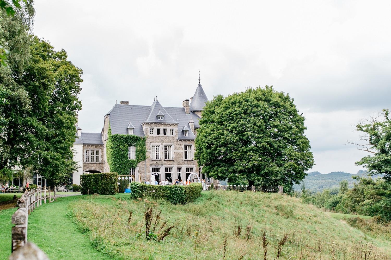 Trouwen in een kasteel in België