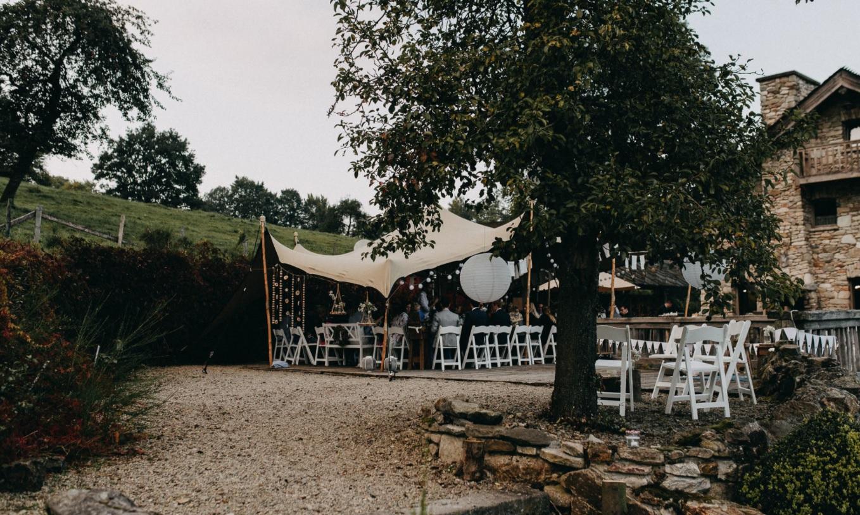 Bruiloft in Belgische Ardennen