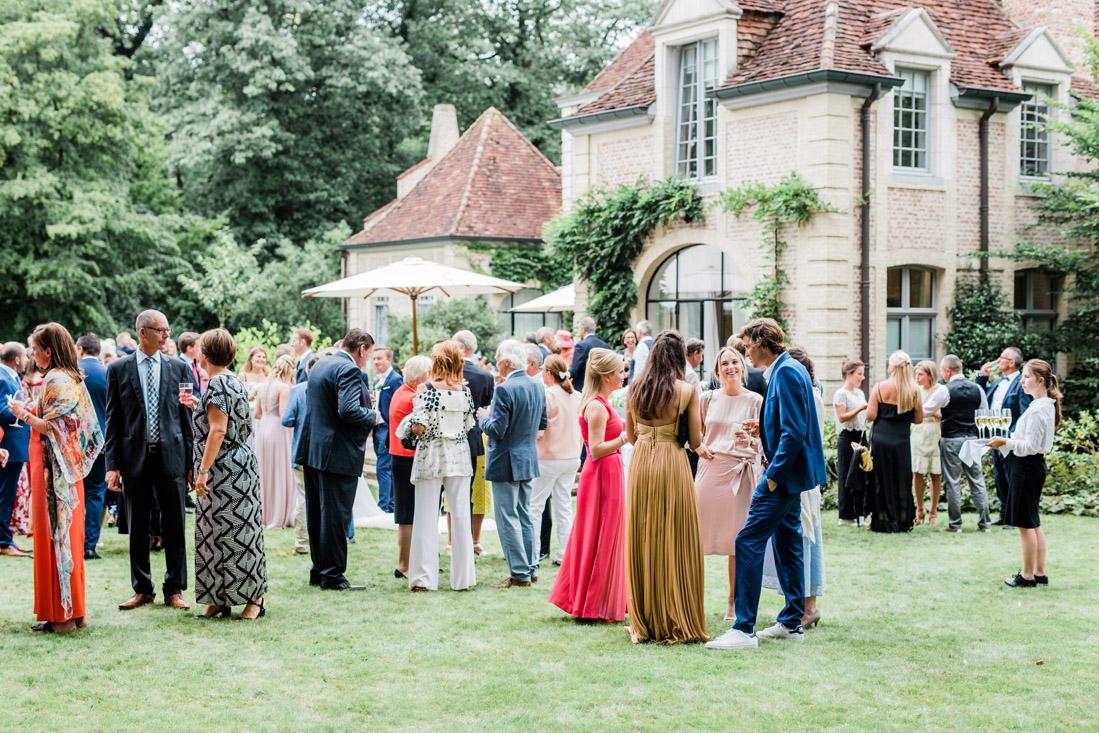 Bruiloft op een landhuis in België