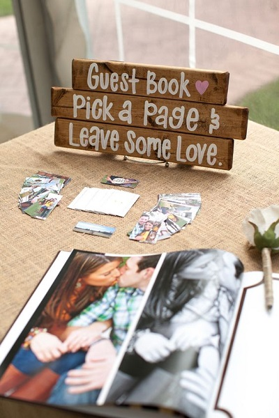 Gastenboek met foto´s