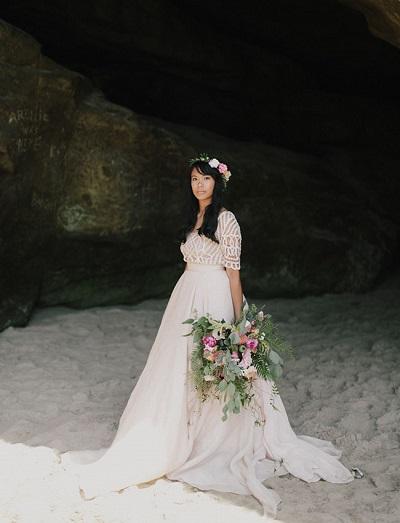 Strand bruidsjurken