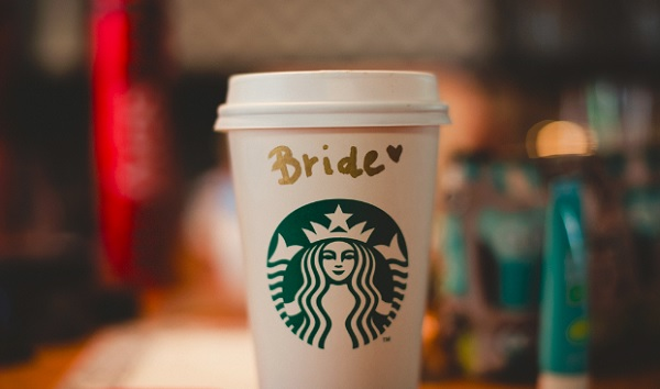 Starbucks bruiloft