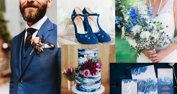 Blauw als themakleur