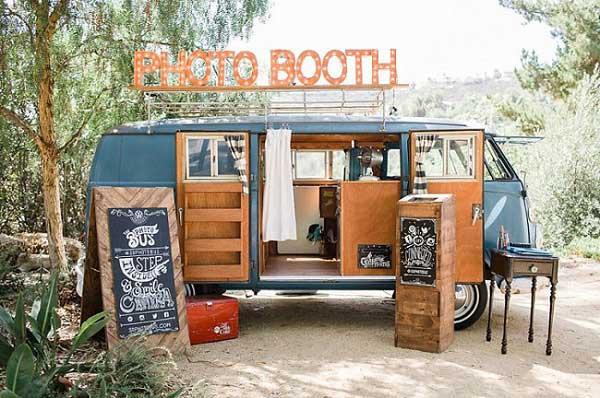 Volkswagenbusje photobooth